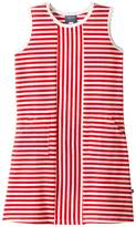 Toobydoo Red Stripe Alexia Dress (Toddler/Little Kids/Big Kids)