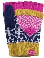 Joules Fairisle Fingerless Gloves