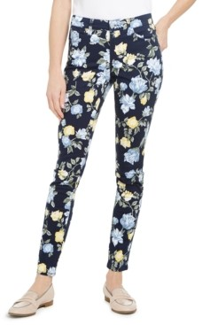 Charter Club Floral Lexington Straight-Leg Jeans, Created for Macy's