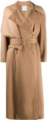 Agnona Camel Hair Trench Coat