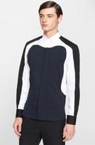 Neil Barrett 'Aerodynamic' Slim Fit Color Block Shirt