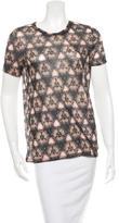 Prabal Gurung Printed Short Sleeve T-Shirt w/ Tags