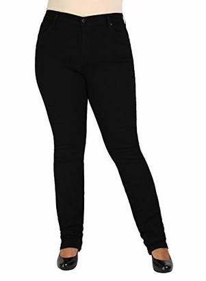 James Jeans Women's Plus-Size Hunter Z Straight-Leg Jean