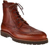 Vince Camuto Mens Wingtip Leather Boots - Leep