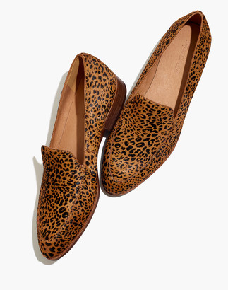 Madewell The Frances Loafer in Mini Leopard Calf Hair