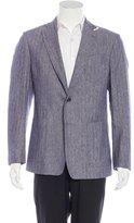 Billy Reid Woven Two-Button Sports Jacket