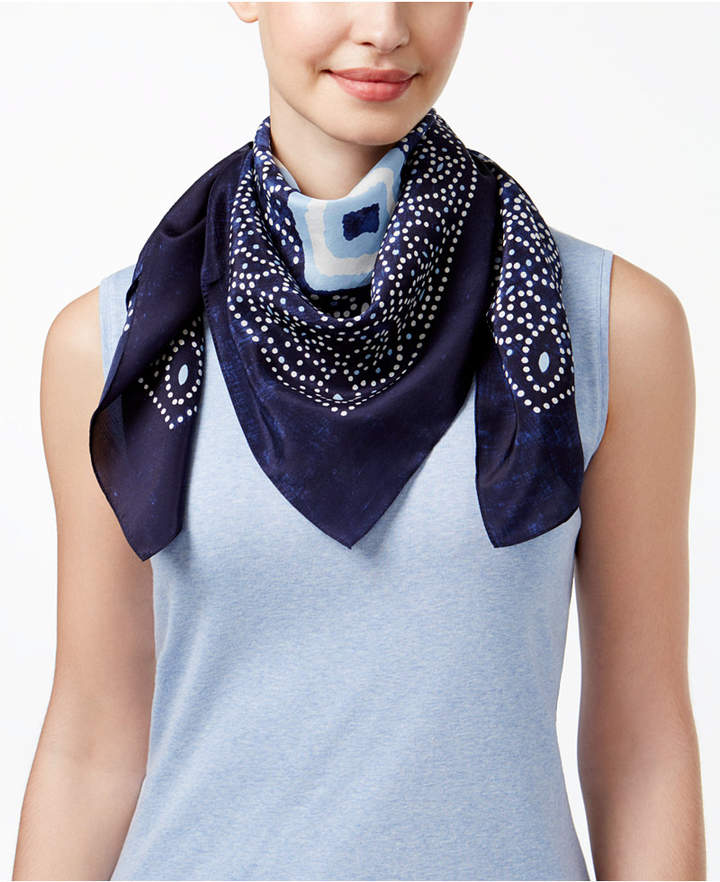 Vince Camuto Soul Silk Square Scarf