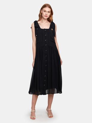 Free People Lou Lou Utility Midi Dress