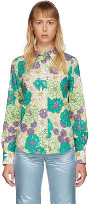 Marc Jacobs Multicolor Floral Shirt