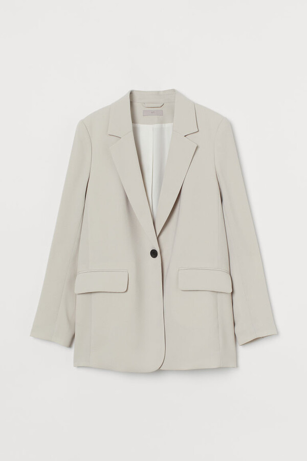Thumbnail for your product : H&M Single-breasted Jacket - Beige