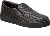 Bottega Veneta Intrecciato Nappa Leather Dodger Sneaker