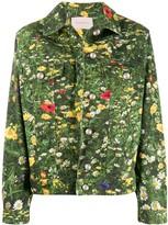 Christopher Kane London Fields denim jacket