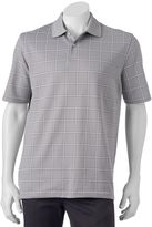Arrow Big & Tall Classic-Fit Windowpane Polo