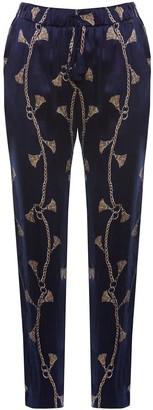 Nissa Printed Tassel Pants