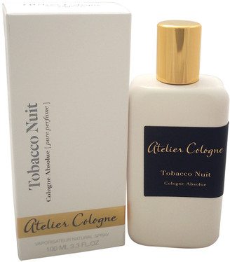 Atelier Cologne Unisex Tobacco Nuit 3.3Oz Cologne Absolue Spray