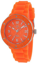 Oceanaut Acqua Womens Orange Rubber Bracelet Watch