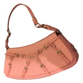 Christian Dior Pink Leather Handbag