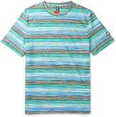 Missoni - Slim-fit Striped Cotton-jersey T-shirt