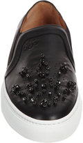 Givenchy Crystal-Embellished Slip-On Sneaker