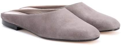 Maryam Nassir Zadeh Maryam suede slippers