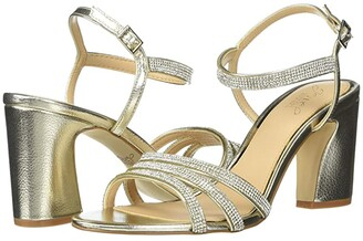 Badgley Mischka Brighton (Light Gold) Women's Shoes