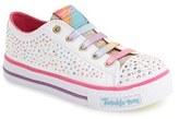 Skechers Toddler Girl's 'Twinkle Toes - Shuffles' Light-Up Sneaker