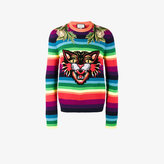 Gucci Angry Cat rainbow sweater