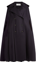 Valentino Double-breasted felt cape