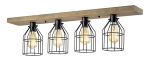 """Home Accessories Matzing 7"""" 4-Light Indoor Pendant Lamp with Light Kit"""