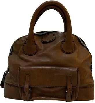Chloé Edith Brown Leather Handbags