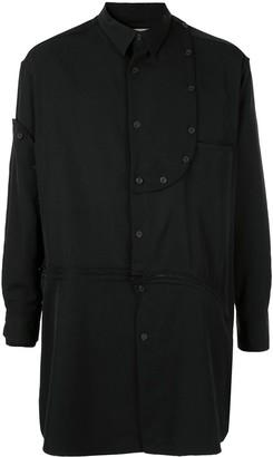Yohji Yamamoto Bottom Zip Detachable Shirt