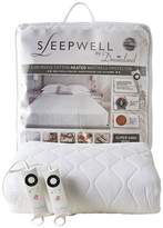 Dreamland Sleepwell Intelliheat Electric Cotton Mattress Cover Sb Dual