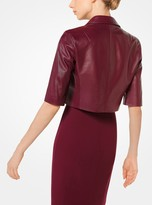 Michael Kors Plonge Cropped Jacket