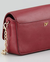 Diane von Furstenberg Flirty Leather Mini Crossbody Bag, Cherry (Stylist Pick!)