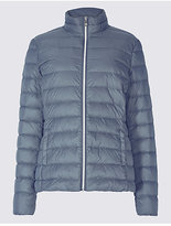 M&S Collection Padded Down & Feather Jacket with StormwearTM
