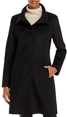 Via Spiga Mid Length A Line Coat