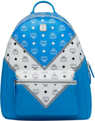 MCM Men's Stark Logo Visetos Backpack