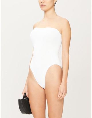 Hunza G Audrey strapless swimsuit