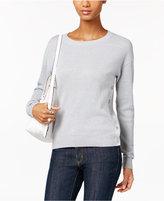 MICHAEL Michael Kors Metallic Textured Sweater