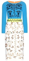 Peter Pilotto Embellished Wool Dress