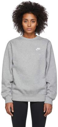 Nike Grey Sportswear Club Sweatshirt