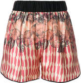 Forte Forte multi print shorts