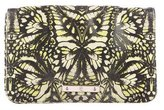 McQ Printed Leather Clutch