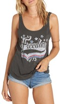 Billabong Women's Freedom Of '73 Graphic Tank