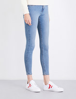 Calvin Klein Skinny cropped high-rise jeans