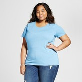 Mossimo Women's Plus Size Crew Neck T-Shirt