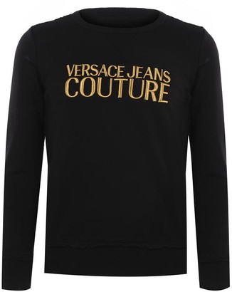 Versace Jeans Couture Contrast Logo Sweater