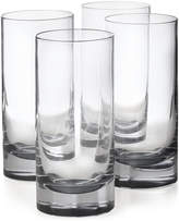 Hotel Collection Highball Glasses with Gray Accent, Set of 4, Created for Macy's