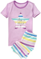 Crazy 8 Shine Bright 2-Piece Shortie Pajama Set