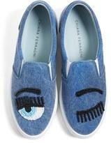 Chiara Ferragni Women's Flirting Beaded Slip-On Sneaker